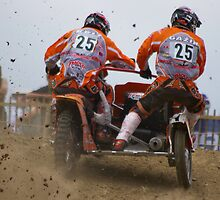 Sidecar motocross by Frederic Chastagnol