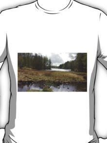 Low View Tarn Hows Lake District T-Shirt