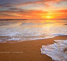 Sea Foam by Saleh Rubat