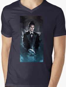 Gotham - The Penguin Mens V-Neck T-Shirt