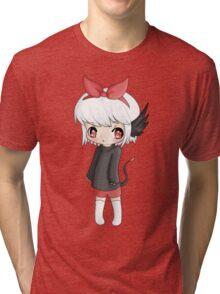 Chibi Oni Tri-blend T-Shirt