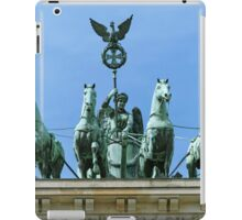 Brandenburg Gate Quadriga Berlin iPad Case/Skin