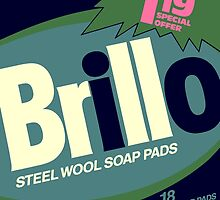 Brillo Box Package Colored 74 - Andy Warhol Inspired by peterpotamus
