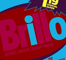 Brillo Box Package Colored 75 - Andy Warhol Inspired by peterpotamus