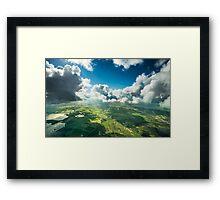 Pilots view Framed Print