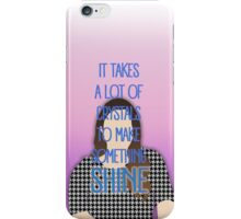 It takes a lot of crystals... iPhone Case/Skin