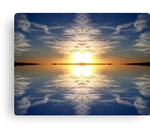 Sky Reflected Canvas Print