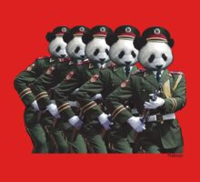 Panda Army by Malkman