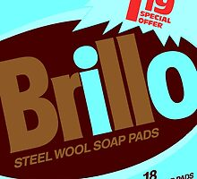 Brillo Box Package Colored 79 - Andy Warhol Inspired by peterpotamus