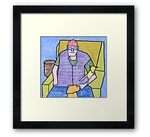 Bill Senior & Junior Framed Print