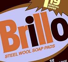 Brillo Box Package Colored 80 - Andy Warhol Inspired by peterpotamus