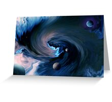 Cosmic ocean Greeting Card
