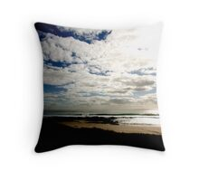 Beachscape I Throw Pillow