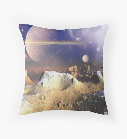 Lost in space I think Throw Pillow