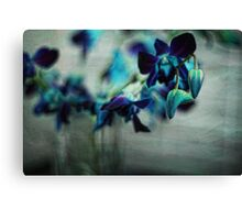 Textured Orchids Canvas Print