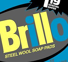Brillo Box Package Colored 84 - Andy Warhol Inspired by peterpotamus