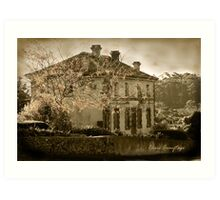 The Villa Parma at Hepburn Springs Art Print
