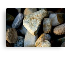 Pile Of Rocks Canvas Print