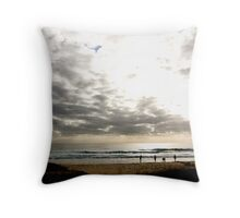 Beachscape II Throw Pillow