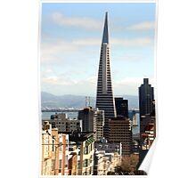 The Transamerica Pyramid, San Francisco Poster