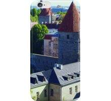 Rooftops of Tallin iPhone Case/Skin