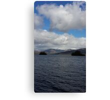 View of Lake Windermere Canvas Print
