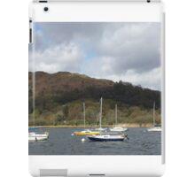 Boats on Lake Winderemere iPad Case/Skin