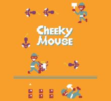 Classic 80's arcade games: Cheeky Mouse by David Anderson