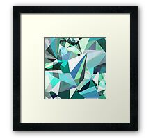 Colorflash 8 mint Framed Print