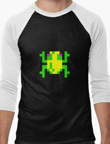 Classic 80's arcade games: Frogger Men's Baseball ¾ T-Shirt