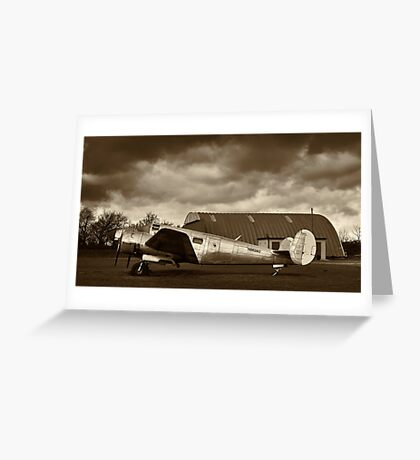 Beechcraft 18 Expeditor - II Greeting Card