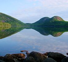 Summer Serenity, Jordan Pond by Dan Hatch