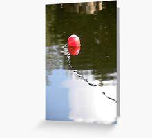 Fishing on the Lake Greeting Card