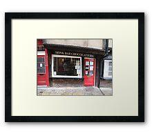Monk Bar Chocolatiers Framed Print