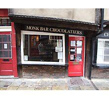 Monk Bar Chocolatiers Photographic Print