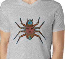 La Araña Mens V-Neck T-Shirt