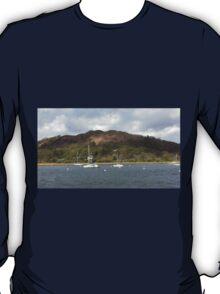 Boats Lake Windermere T-Shirt