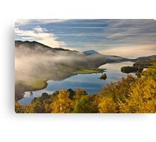 Queen's View - Like A Painting Canvas Print