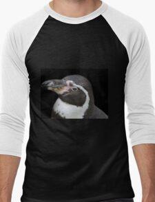 Humbolt Penguin Portrait (Cotswold) Men's Baseball ¾ T-Shirt