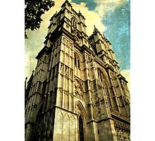 Westminster Abbey Towers Photographic Print