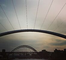 Bridge Views Newcastle Upon Tyne by loubylou2209
