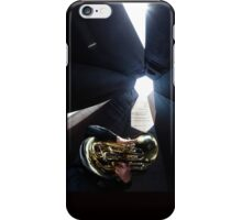 Tuba Player iPhone Case/Skin