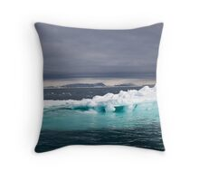 Svalbard Iceberg Throw Pillow