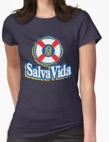 Salva Vida Cerveza - Beautiful Central American Beer of Honduras Womens Fitted T-Shirt