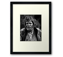 Brother, can you spare a dime? Framed Print