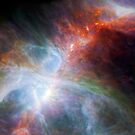 NASA Orion's Rainbow of Infrared Light by monsterplanet