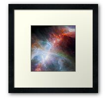 NASA Orion's Rainbow of Infrared Light Framed Print