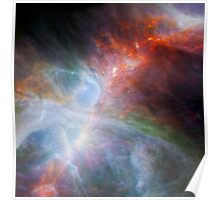 NASA Orion's Rainbow of Infrared Light Poster