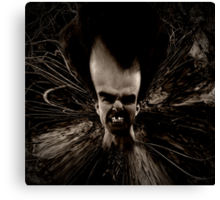 My Brother The Grotesque Canvas Print