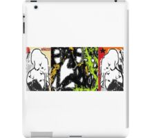 the lamb and the eagle - ruffled feathers and torn pages 4 iPad Case/Skin